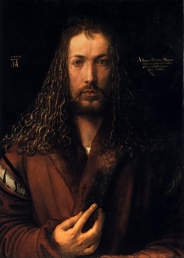 Albrecht Dürer - Autorretrato