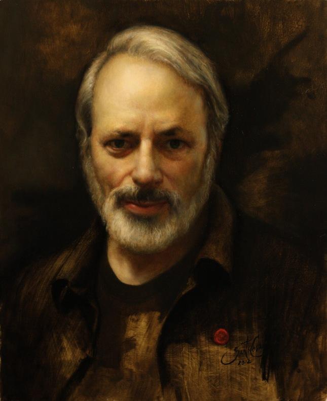 Retrato de Fred Ross - César Santos