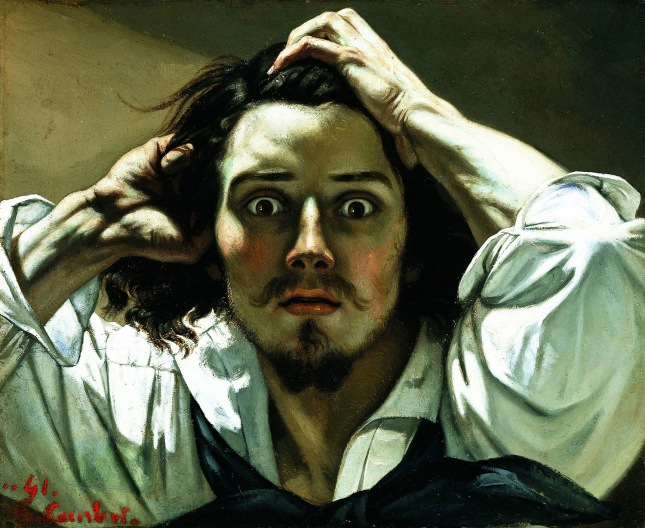 Gustavo Courbet - Autorretrato