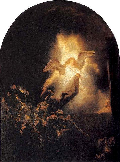 Rembrandt van Rijn - A ressurreição de Jesus