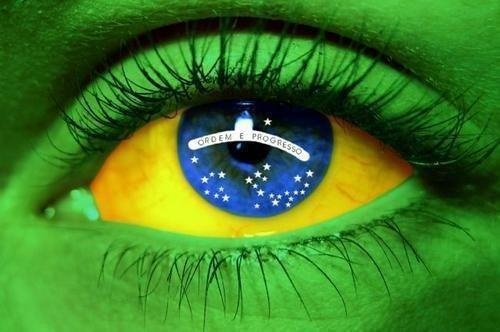 Bandeira Brasileira - Olho
