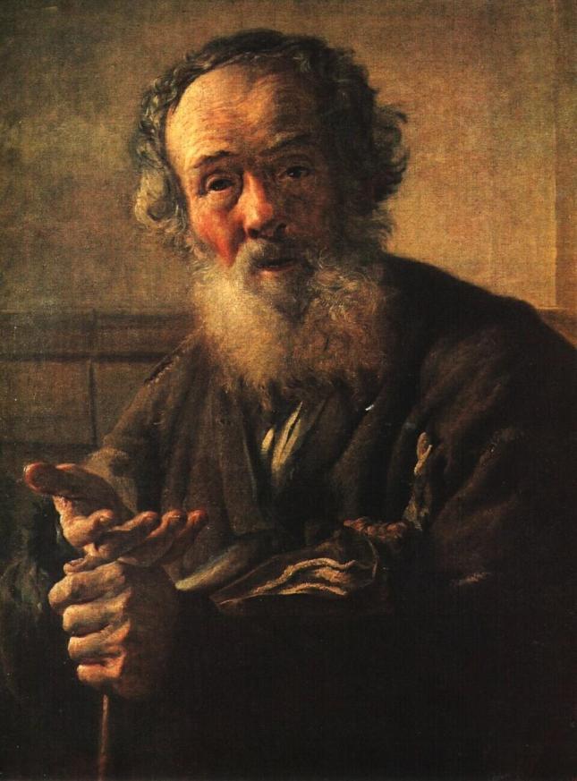 Velho Mendigo - Vasily Tropinin - 1823