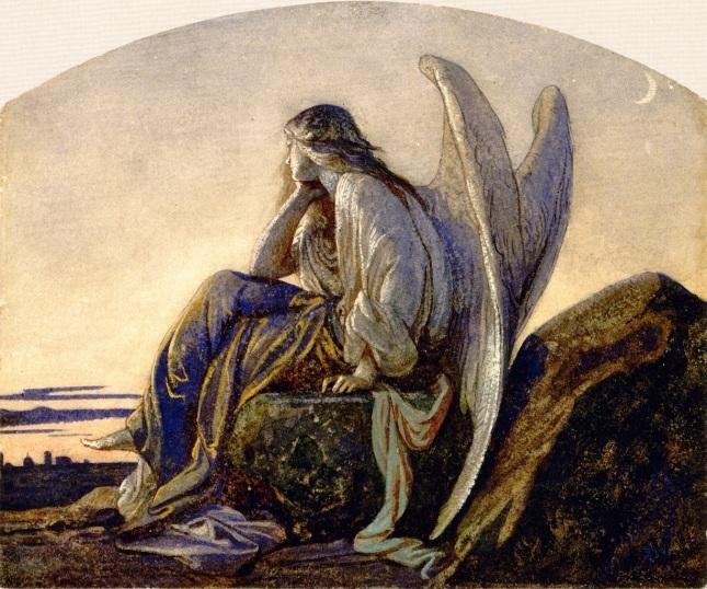 Alexandre Cabanel - O anjo do entardecer