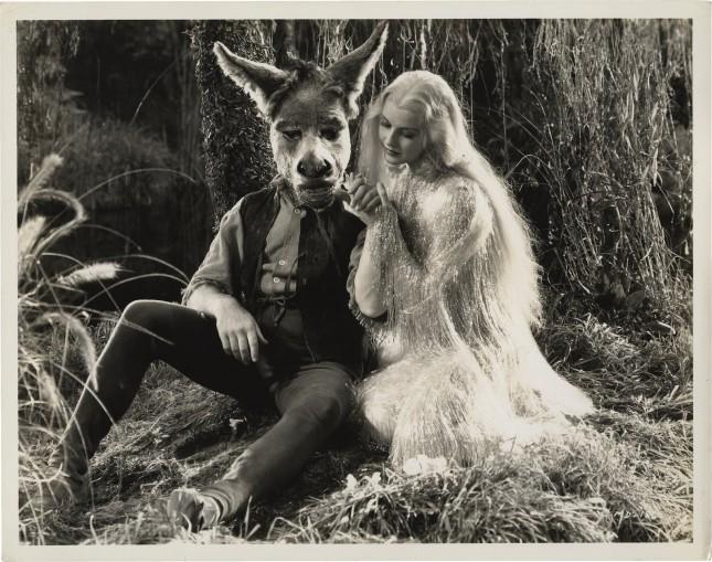 James Cagney e Anita Louise em A Midsummer Night's Dream (Sonhos de Uma Noite de Verão), 1935.